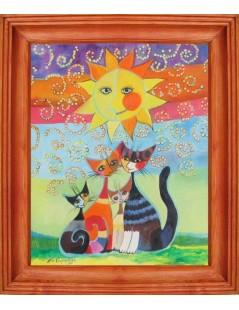Tytuł: Koty, Autor: Emilia Czupryńska