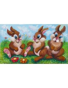 Trzy króliki