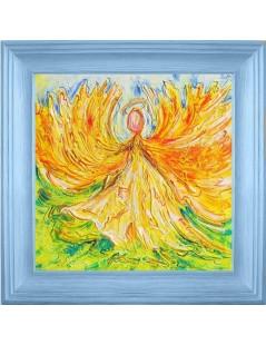 Abstrakcja Anioł