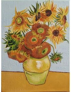 Tytuł: Słoneczniki, bukiet 12 kwiatów, Autor: Vincent van Gogh