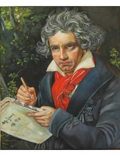 Tytuł: Beethoven, Autor: Josph Carl Stieler