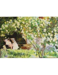 Tytuł: Róże, Autor: Peter Severen Kroyer