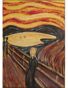 Tytuł: Krzyk, Autor: Edward Munch