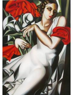 Tytuł: Portret Iry P., Autor: Tamara de Lempicka