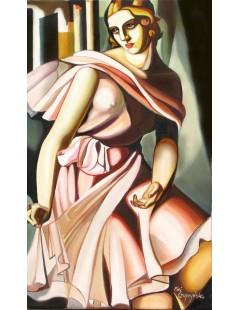 Tytuł: Romana de la Salle, Autor: Tamara de Lempicka