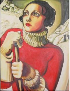 Tytuł: St. Moritz, Autor: Tamara de Lempicka