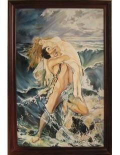 Tytuł: Afrodyta i Adonis, Autor: Nieznany