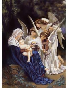 Tytuł: Pieśń Aniołów, Autor: William Bouguereau