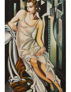 Tytuł: Portret Pani Allan Bott, Autor: Tamara de Lempicka