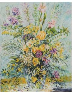 Tytuł: Bukiet kwiatów, Autor: Nieznany