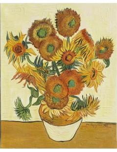 Tytuł: Słoneczniki, Autor: Vincent van Gogh