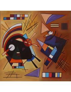 Tytuł: Czarno-fioletowy, Autor: Wassily Kandinsky