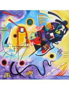 Tytuł: Żółty, czerwony, niebieski, Autor: Wassily Kandinsky