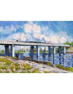 Most kolejowy w Argenteuil