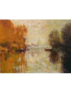 Jesień nad Sekwaną w Argenteuil