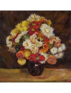 Tytuł: Bukiet chryzantem, Autor: Pierre Auguste Renoir