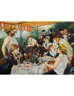 Tytuł: Śniadanie wioślarzy, Autor: Pierre Auguste Renoir