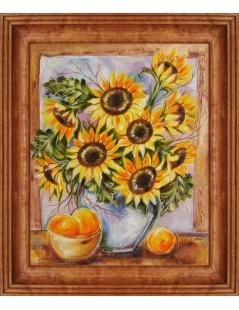 Tytuł: Słoneczniki, Autor: Emilia Czupryńska