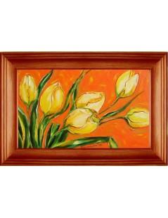 Tytuł: Żółte tulipany, Autor: Emilia Czupryńska