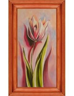 Tytuł: Tulipan różowy, Autor: Emilia Czupryńska