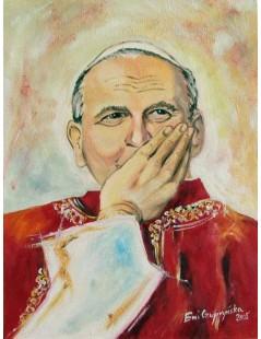Tytuł: Jan Paweł II, Autor: Z fotografii