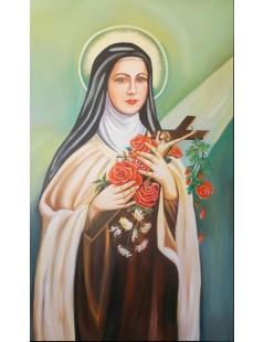 Tytuł: Św. Teresa od Dzieciątka Jezus, Autor: Z fotografii
