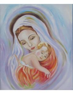 Tytuł: Św. Maria z Dzieciątkiem, Autor: Z fotografii