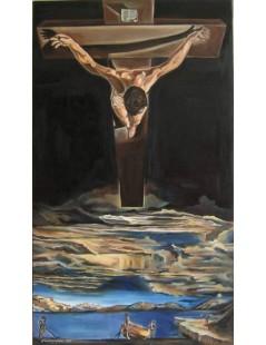 Tytuł: Chrystus św.Jana od Krzyża, Autor: Salvador Dali