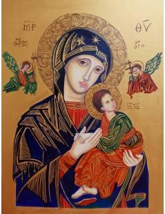 Tytuł: Matka Boska Nieustającej Pomocy, Autor: Emilia Czupryńska