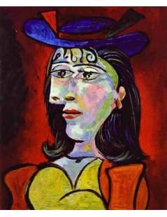 Tytuł: Portret młodej dziewczyny, Autor: Pablo Picasso