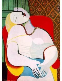 Tytuł: Sen, Autor: Pablo Picasso