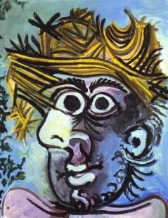 Portret mężczyzny w kapeluszu -Portrait of Man in a Hat