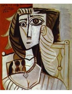 Tytuł: Portret Żanety, Autor: Pablo Picasso