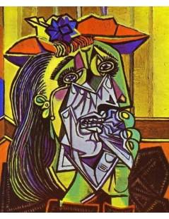 Tytuł: Płacząca kobieta, Autor: Pablo Picasso