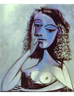 Tytuł: Nusch Eluard, Autor: Pablo Picasso