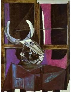 Tytuł: Martwa natura z czaszką, Autor: Pablo Picasso