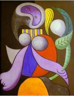 Tytuł: Kobieta z kwiatem, Autor: Pablo Picasso