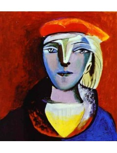 Tytuł: Marie-Therese Walter II, Autor: Pablo Picasso
