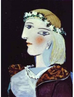 Tytuł: Portret Marie-Therese Walter IV, 1937r., Autor: Pablo Picasso