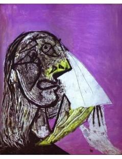Tytuł: Zapłakana kobieta, Autor: Pablo Picasso