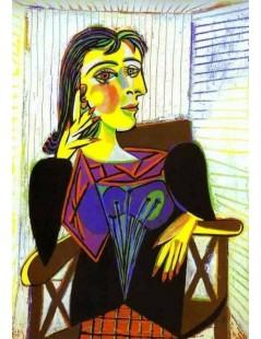 Tytuł: Portret Dory Maar, Autor: Pablo Picasso