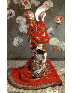 Japonka ( Portret Camille Monet )