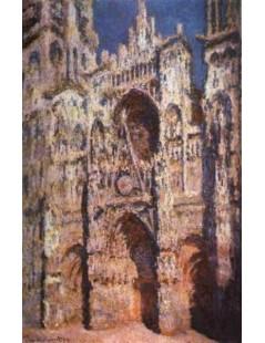 Katedra Rouen, w pełnym słońcu