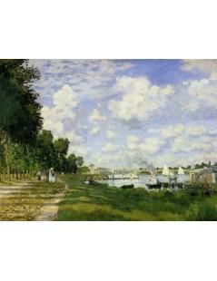 Tytuł: Port w Argenteuil, Autor: Claude Monet