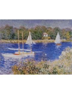 Tytuł: Sekwana w okolicy Argenteuil, Autor: Claude Monet