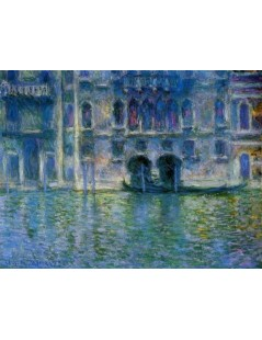 Tytuł: Palazzo da Mula Venecja, Autor: Claude Monet