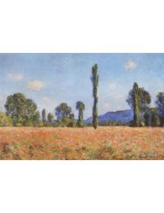 Tytuł: Makowe pole, Autor: Claude Monet