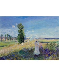 Tytuł: Spacer, Autor: Claude Monet