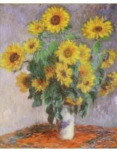 Tytuł: Bukiet słoneczników, Autor: Claude Monet