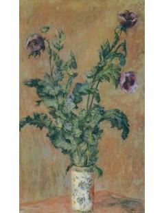 Tytuł: Maki w wazonie, Autor: Claude Monet